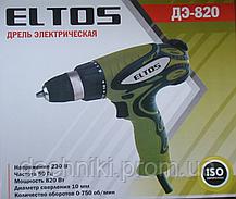 Сетевой шуруповерт ELTOS ДЭ-820, фото 3