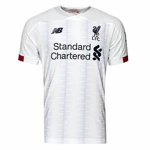 Футбольная форма Ливерпуль, выезд/белый (Liverpool) сезон 19/20