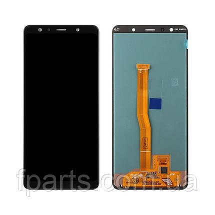 Дисплей для Samsung A750 Galaxy A7 2018 с тачскрином, Black (OLED), фото 2