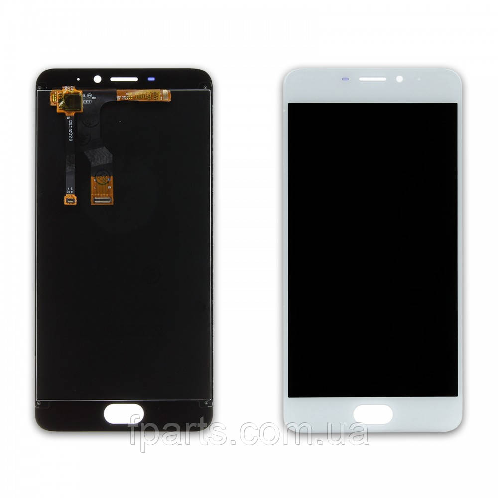 Дисплей для Meizu M5 Note (M621) с тачскрином, White