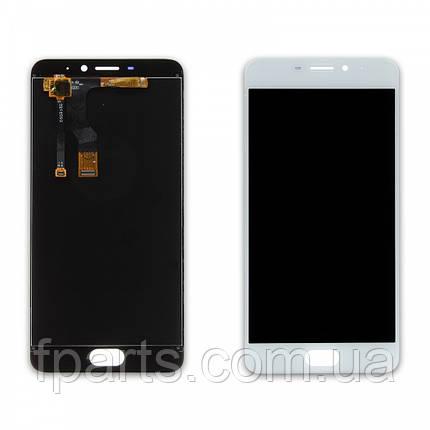 Дисплей для Meizu M5 Note (M621) с тачскрином, White, фото 2