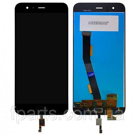 Дисплей для Xiaomi Mi6 с тачскрином, Black, фото 2