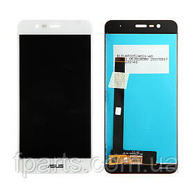 Дисплей для Asus ZenFone 3 Max (ZC520TL, X008D) с тачскрином, White