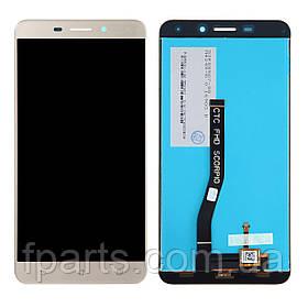 Дисплей для Asus ZenFone 3 Laser (ZC551KL), с тачскрином Gold