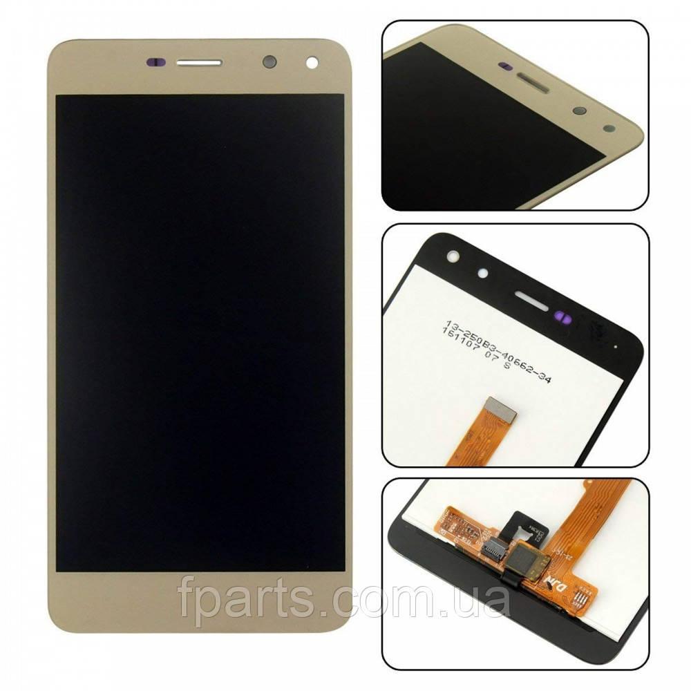 Дисплей для Huawei Y5 2017, Y6 2017, Nova Young (MYA-L11, MYA-L22, MYA-U29) с тачскрином, Gold