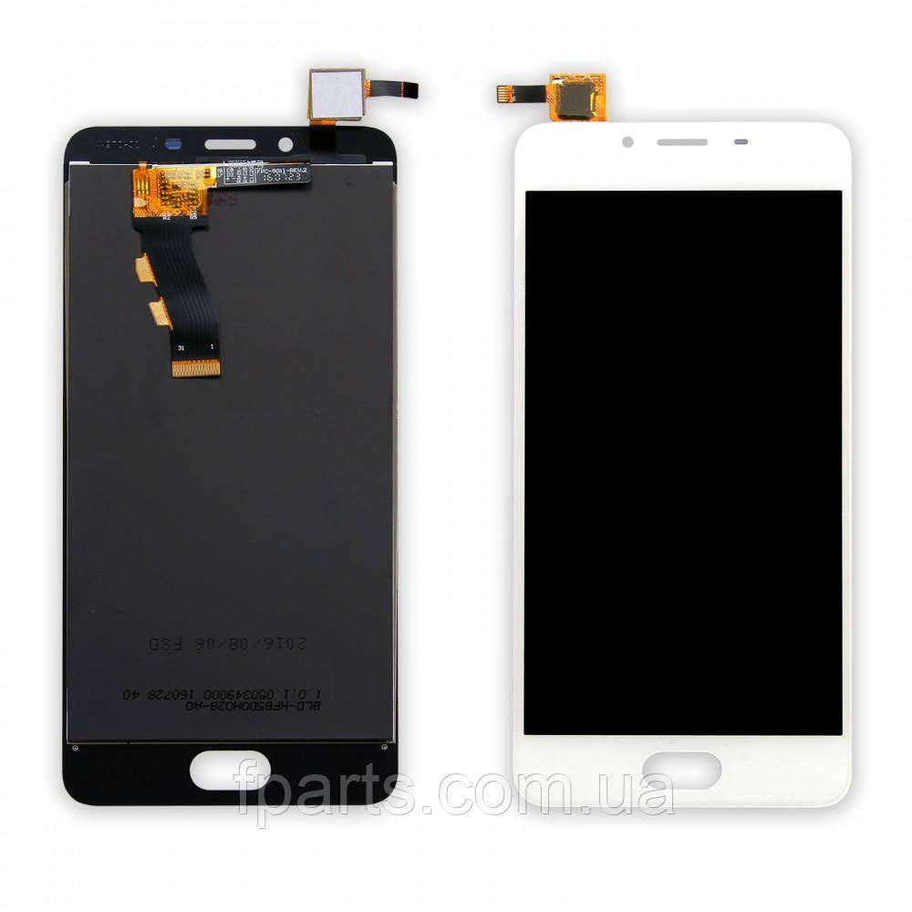 Дисплей для Meizu U10 (U680H) с тачскрином (White)