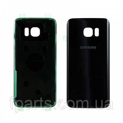 Задняя крышка Samsung G935 Galaxy S7 Edge (Black), фото 2