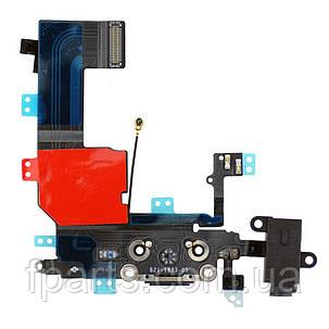 Шлейф iPhone 5C коннектор зарядки, микрофон, фото 2