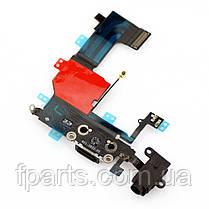 Шлейф iPhone 5C коннектор зарядки, микрофон, фото 3