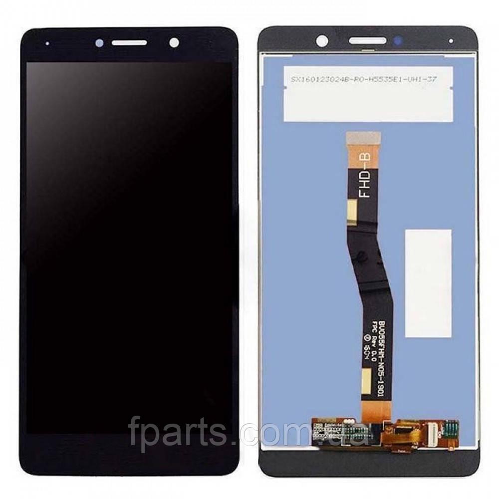 Дисплей для Huawei GR5 2017 (BLN-L21), Honor 6X, Mate 9 Lite с тачскрином (Black)