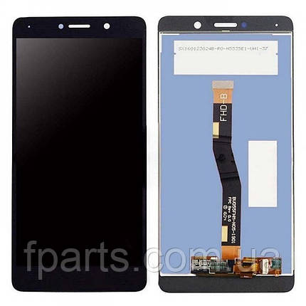Дисплей для Huawei GR5 2017 (BLN-L21), Honor 6X, Mate 9 Lite с тачскрином (Black), фото 2