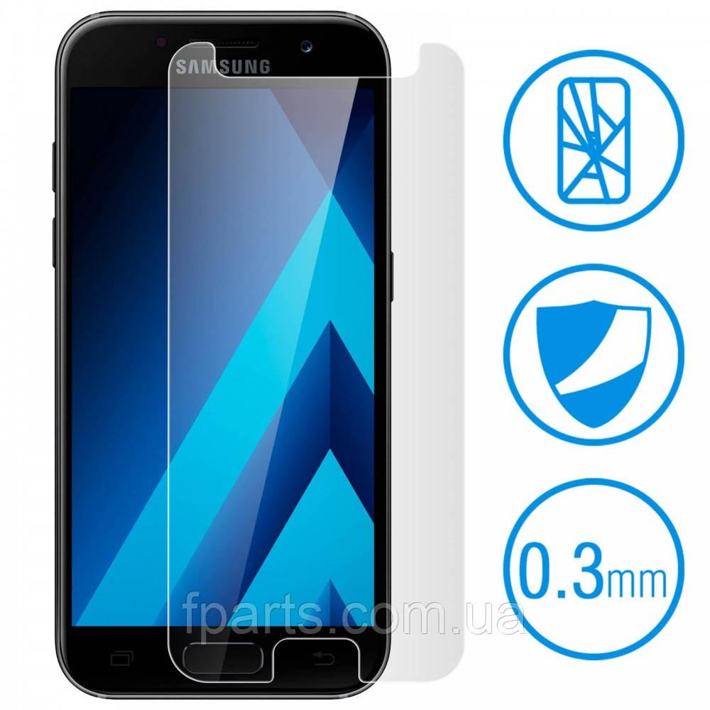 Защитное стекло Samsung A520 Galaxy A5 2017 (2.5D) Прозрачное