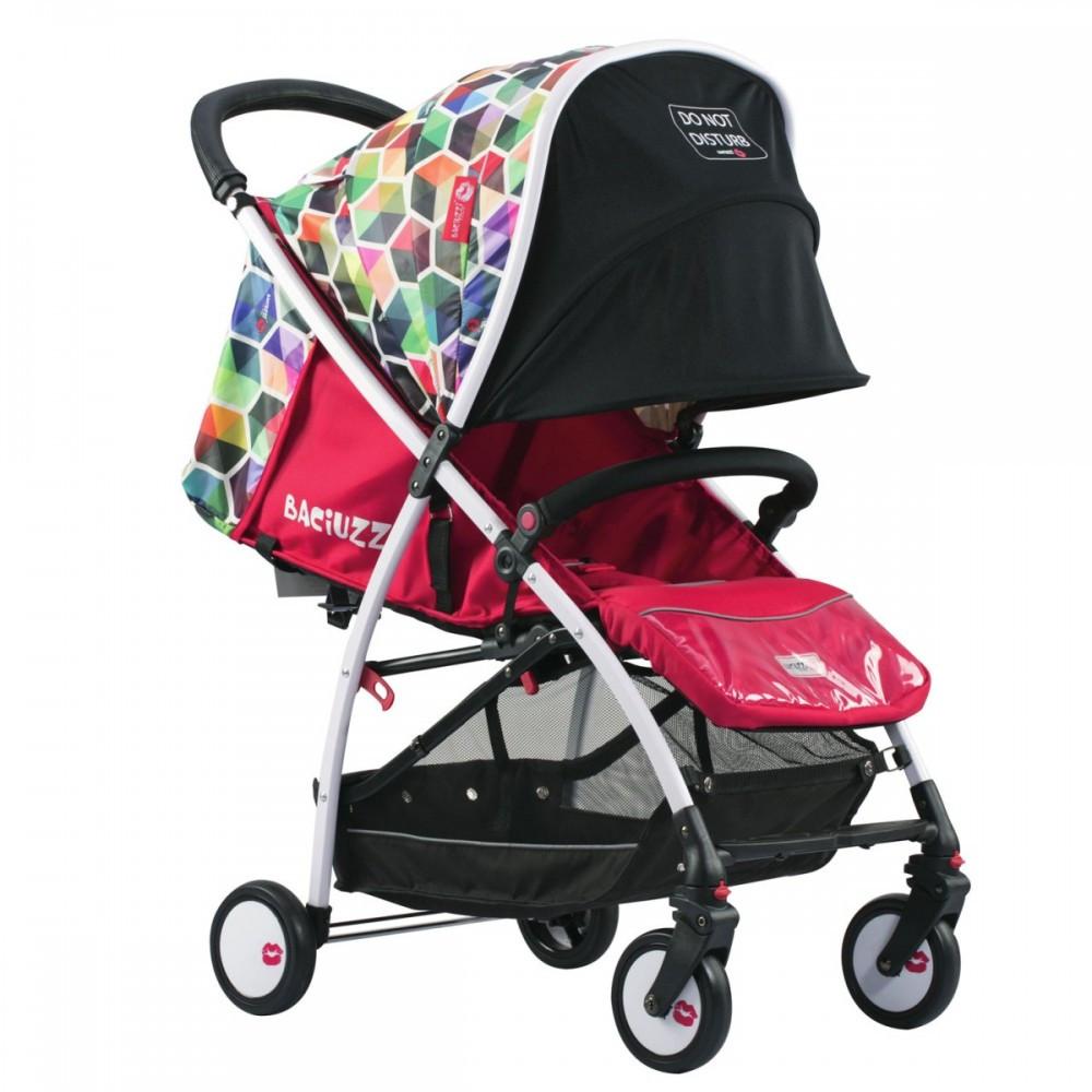 Прогулянкова коляска BACIUZZI BX RIO Різнокольоровий (3072018120)