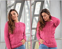 Купить теплый свитер женский ,купить свитера оптом, размеры 42-50., фото 2