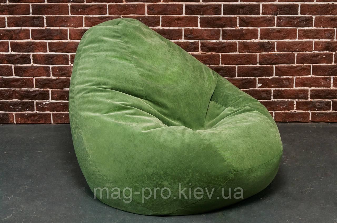 Бескаркасное кресло-груша Микрофибра