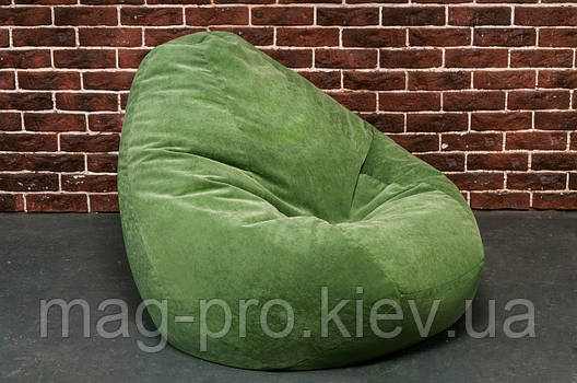 Бескаркасное кресло-груша Микрофибра, фото 2
