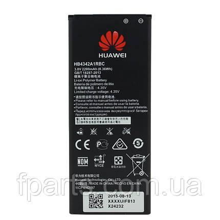 Аккумулятор HB4342A1RBC Huawei Y5 II, Y6, Honor 4A, Honor 5A (2200 mAh), фото 2