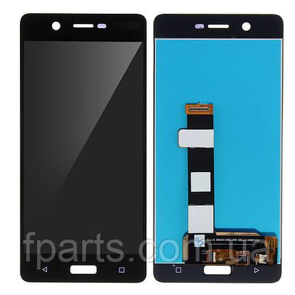 Дисплей для Nokia 5 Dual Sim (TA-1053) с тачскрином, Black, фото 2