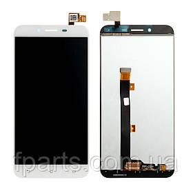 Дисплей для Asus ZenFone 3 Max (ZC553KL, X00DD), с тачскрином White