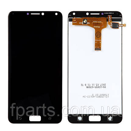 Дисплей для Asus ZenFone 4 Max Pro (ZC554KL) с тачскрином, Black, фото 2