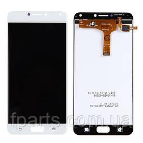 Дисплей для Asus ZenFone 4 Max Pro (ZC554KL) с тачскрином, White