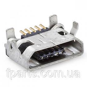 Коннектор зарядки Lenovo A3000, A3300, A3500, A5000, A7000, A7600, A2107, A2109, A10-30, 10-70
