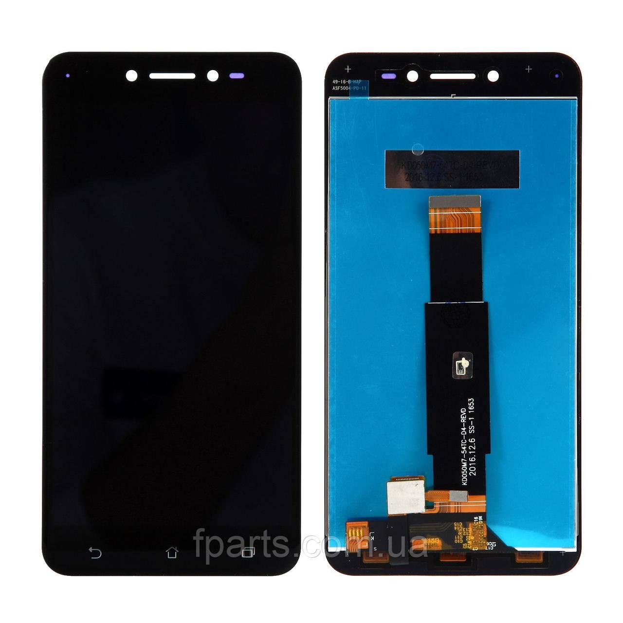 Дисплей для Asus ZenFone Live (ZB501KL) с тачскрином, Black