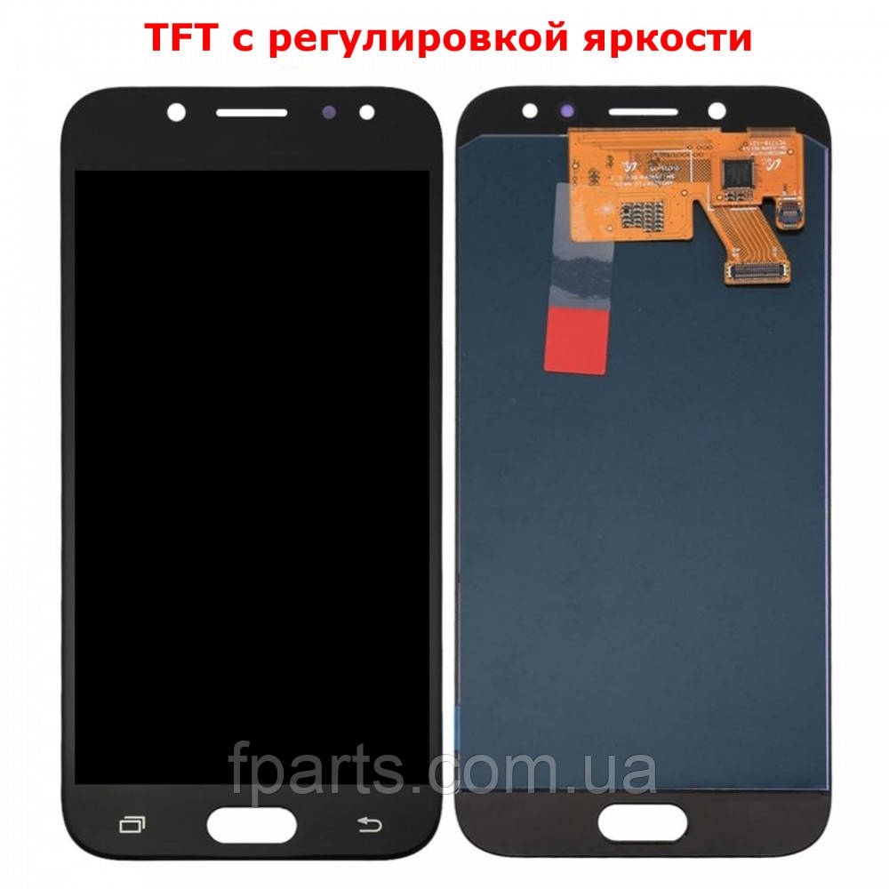 Дисплей для Samsung J530 Galaxy J5 2017 с тачскрином, Black (TFT)