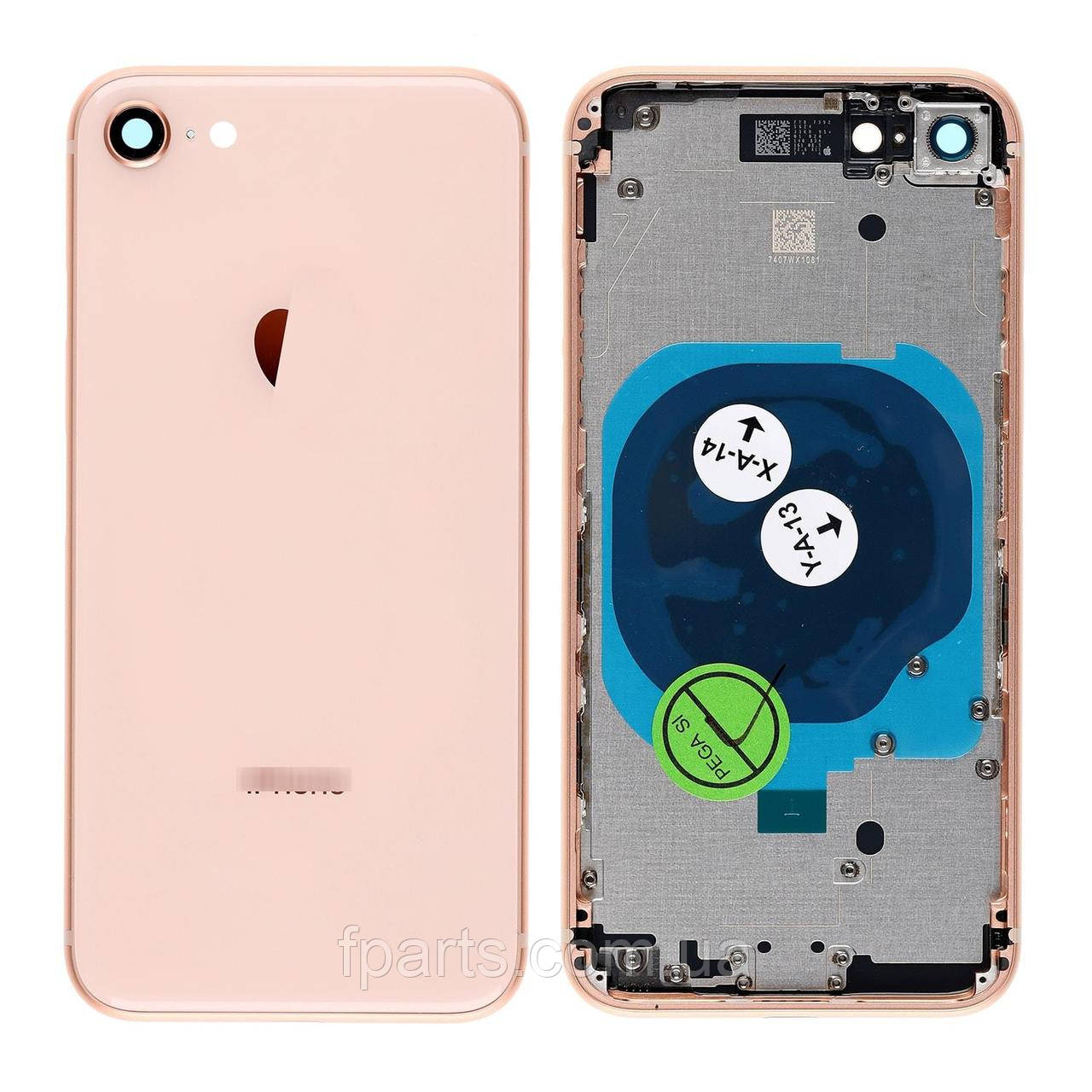 Корпус iPhone 8, Gold