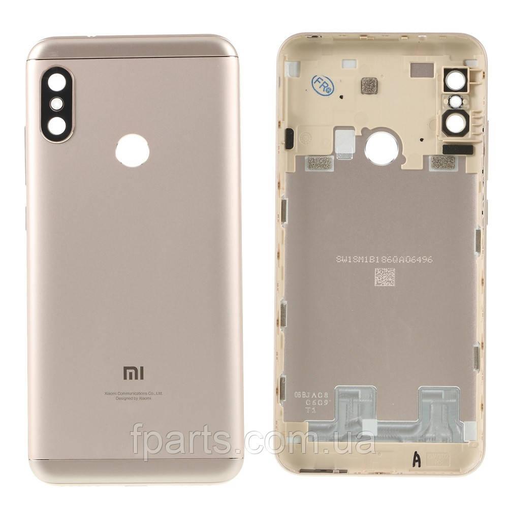 Задняя крышка Xiaomi Mi A2 Lite, Redmi 6 Pro, Gold