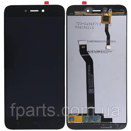 Дисплей для Xiaomi Redmi 5A, Redmi Go (MCG3B) с тачскрином, Black (Original PRC), фото 2