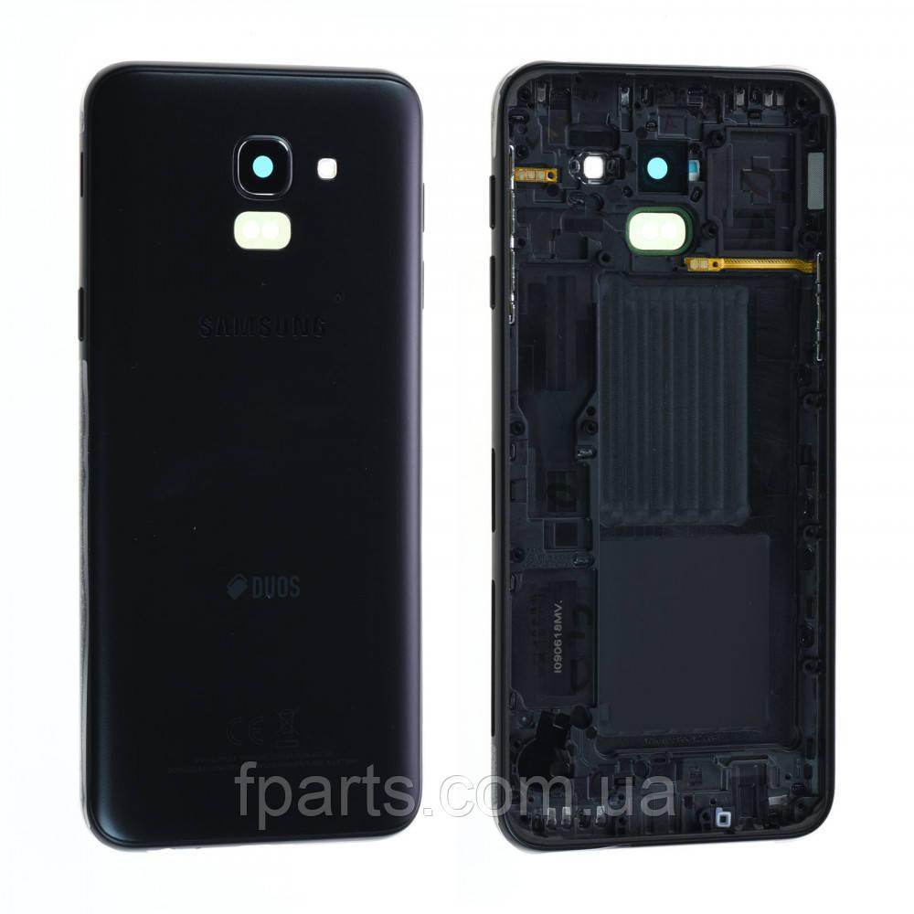 Задня кришка Samsung J600F Galaxy J6 (2018) (Black) Original