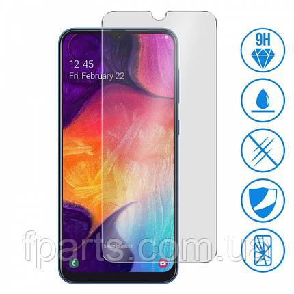 Защитное стекло Samsung A305 Galaxy A30, A505 Gaklaxy A50 (2.5D) Прозрачное, фото 2