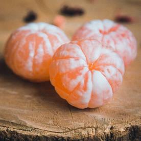 Мило ручної роботи Солодкий мандарин, мандаринове мило, мило мандарин