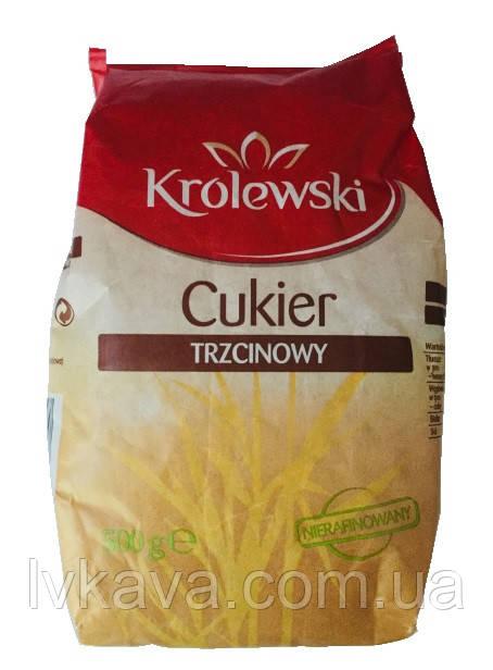 Тростниковый сахар Krolewski , 500 гр