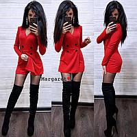 Женский комбезик юбка-шорты (Цвет бордо, темно-синий, бутылка, черный и красный.Размер: С и М)