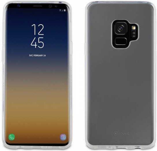 Чехол Muvit Crystal Soft для Samsung Galaxy S9 Transparent (MUCRS0131)