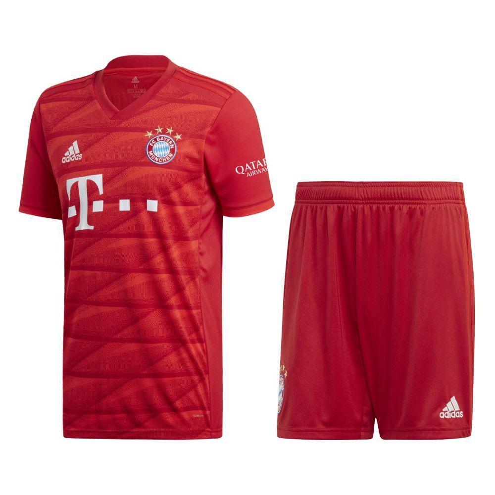 Футбольная форма Бавария (Bayern Munich), дом/красный сезон 19/20