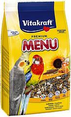 Корм для нимф и крупных попугаев Vitakraft Menu 1 кг (21003)