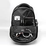 Рюкзак городской Tigernu T-B3105 черный с оранжевым, фото 3