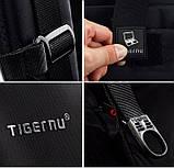 Рюкзак городской Tigernu T-B3105 черный с оранжевым, фото 6