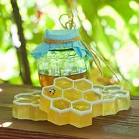 Мыло ручной работы Медовая мечта (соты), медовое мыло, мыло с медом
