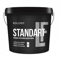 Шпаклевка финишная, акриловая, Колорит Standart LF (Kolorit) 8,5 кг
