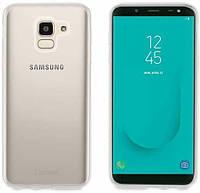 Чехол Muvit Crystal Soft для Samsung Galaxy J6 2018 Transparent (MUCRS0151)