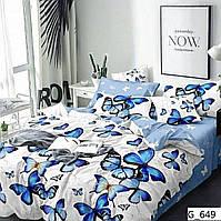 Модное постельное бельё  Бабочки (полуторный размер)