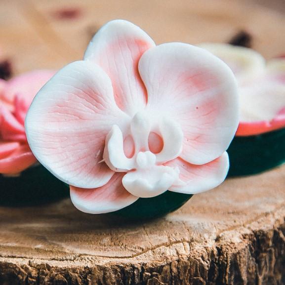 Мыло ручной работы Орхидея, мыло орхидея