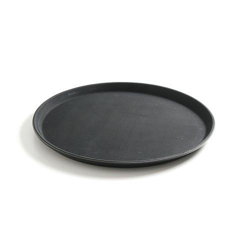 Поднос сервировочный из полипропилена, круглый 410 мм, черный 878149 Hendi (Нидерланды)