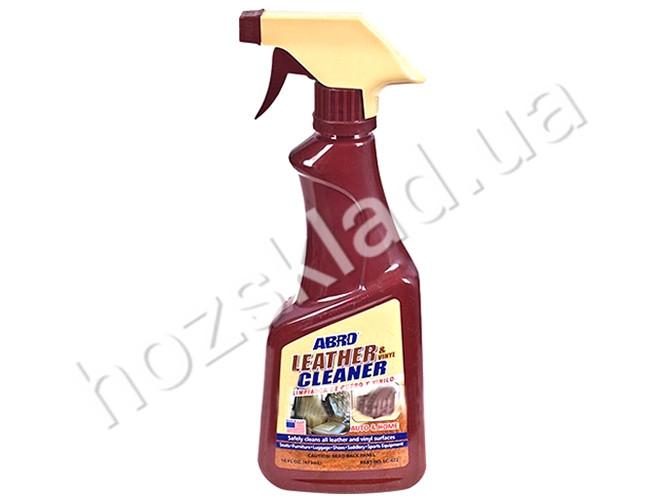 Очиститель кожи и винила ABRO LC-472 472мл