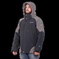 Мужская горнолыжная куртка Columbia OMNI-HEAT (3в1) 7797-9 темно-синего цвета
