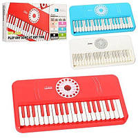 KMSK-X 5 Синтезатор   37 клавиш, MP3, 4тона,4ритма,6мелодий,3цв,на бат-ке,в кор-ке,40-18,5-4,5см
